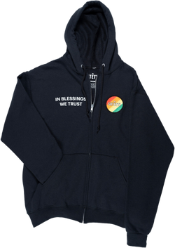 Patch Zip Up Hoodie - Shtettl