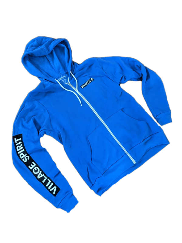 VILLAGE SPIRIT Zip-Up Hoodie