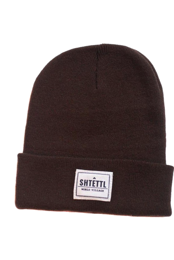 World Village Beanie Brown - Shtettl