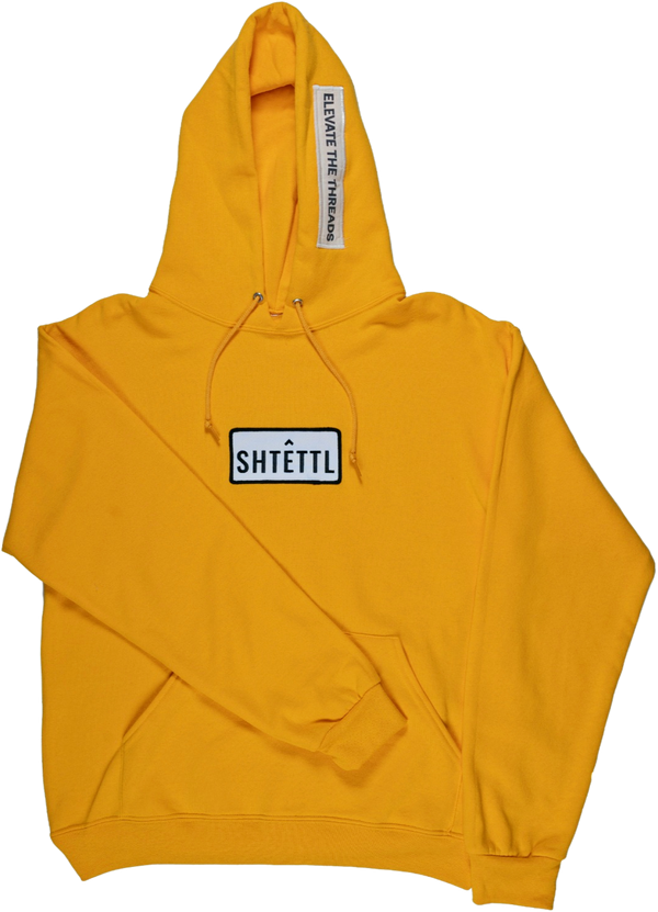 Pullover Patch Hoodie - Shtettl