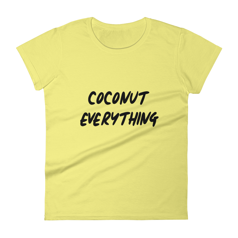 Coconut Everything - Women's short sleeve t-shirt