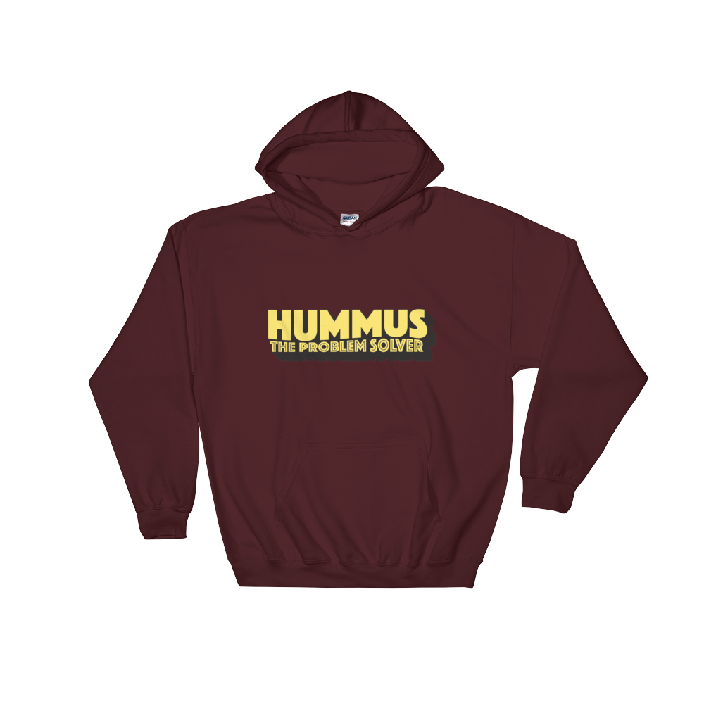 Hummus The Problem Solver - Hooded Sweatshirt