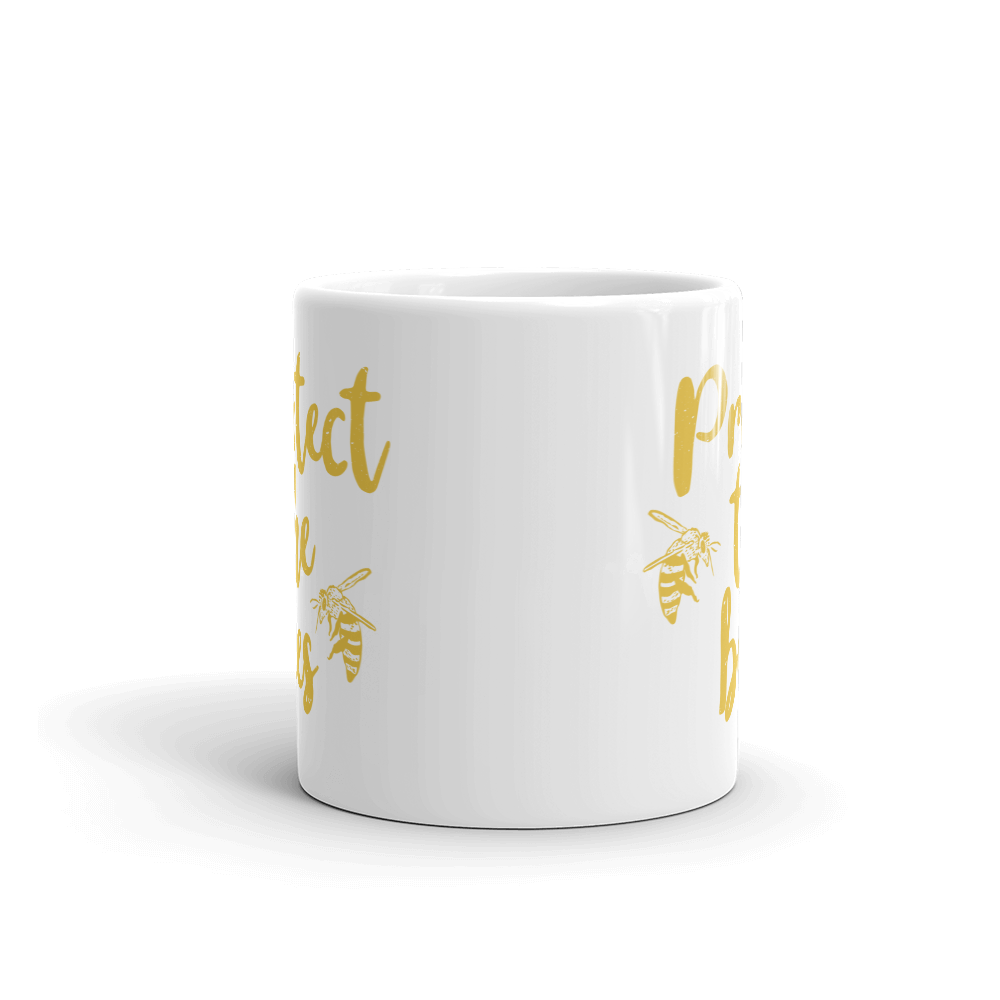 Protect The Bees - Mug