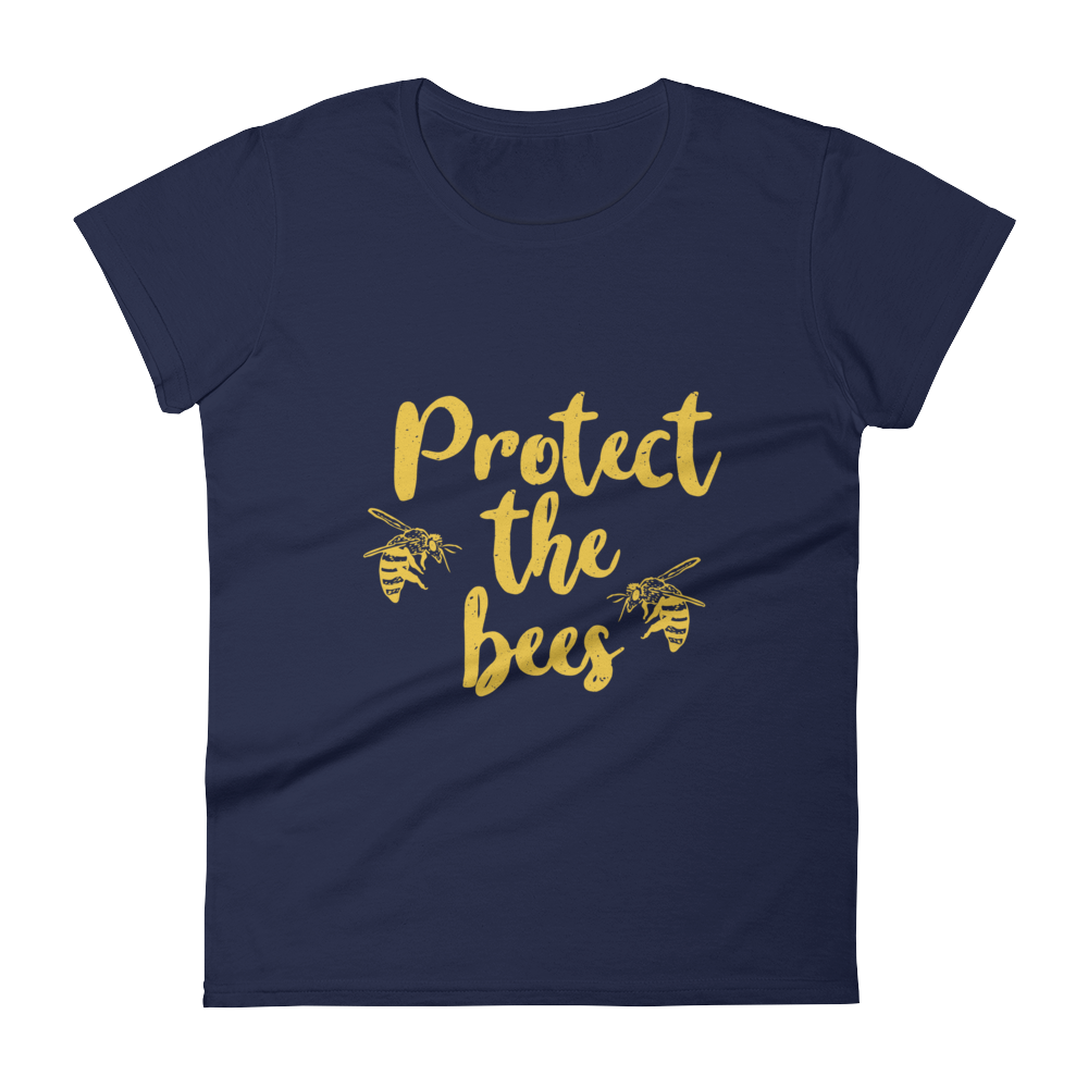 Protect The Bees - Women's short sleeve t-shirt