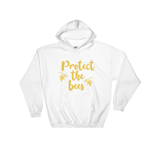 Protect The Bees - Hooded Sweatshirt