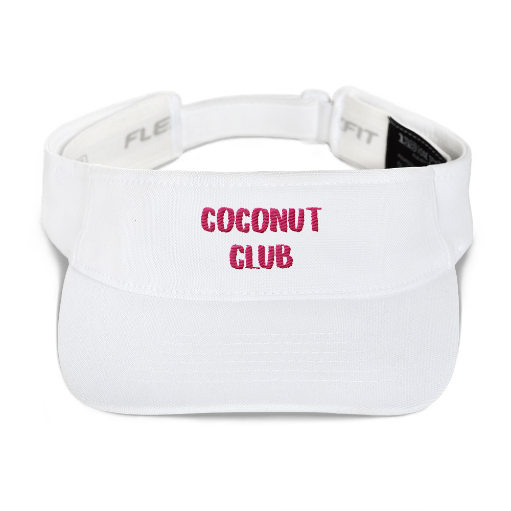 Coconut Club - Visor Cap