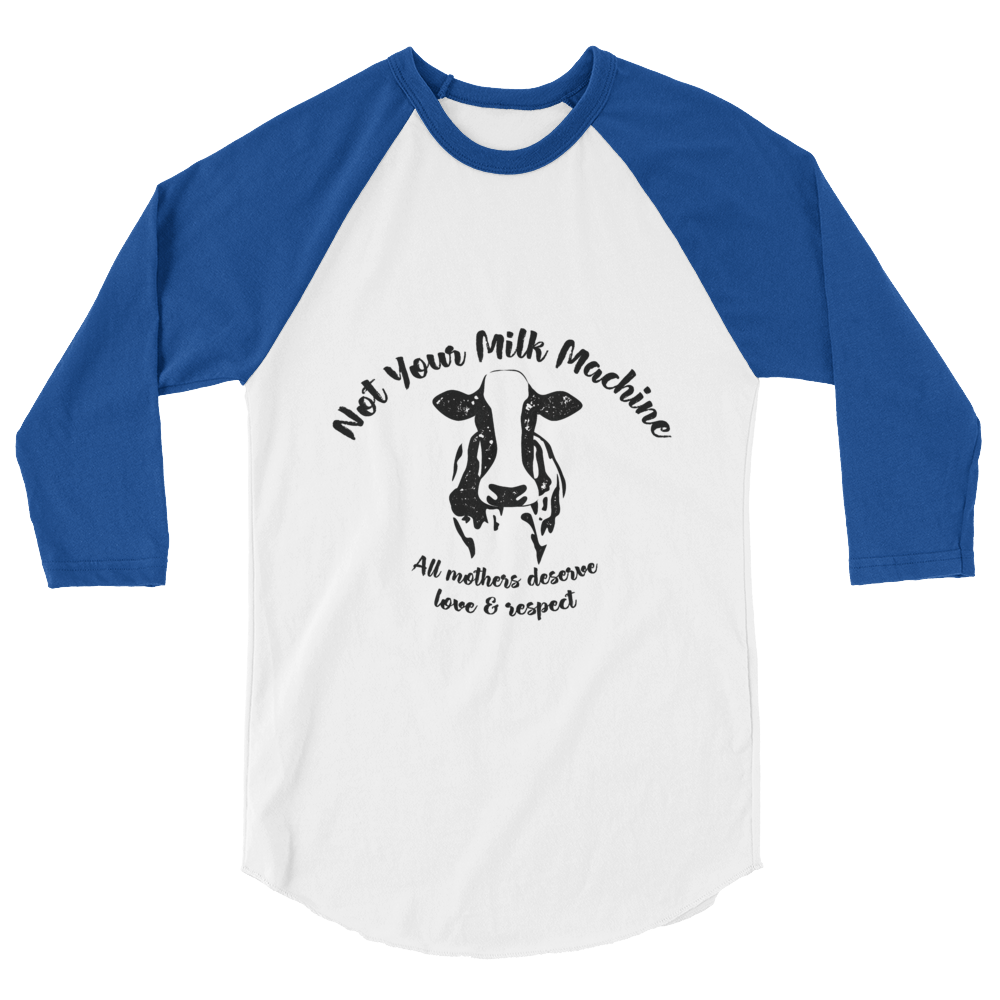Not Your Milk Machine - Baseball shirt