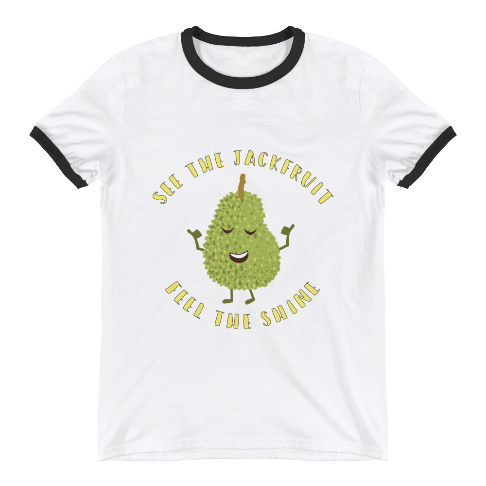 See The Jackfruit, Feel The Shine - Ringer T-Shirt