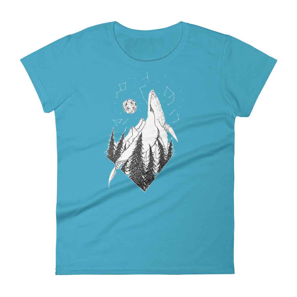 The Whale Universe - Women's short sleeve t-shirt