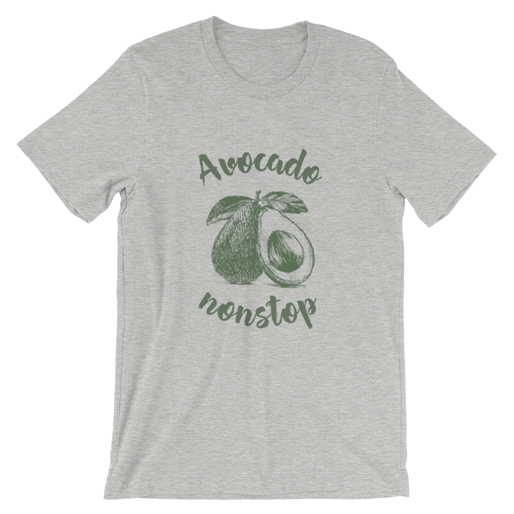 Avocado nonstop - Short-Sleeve Unisex T-Shirt