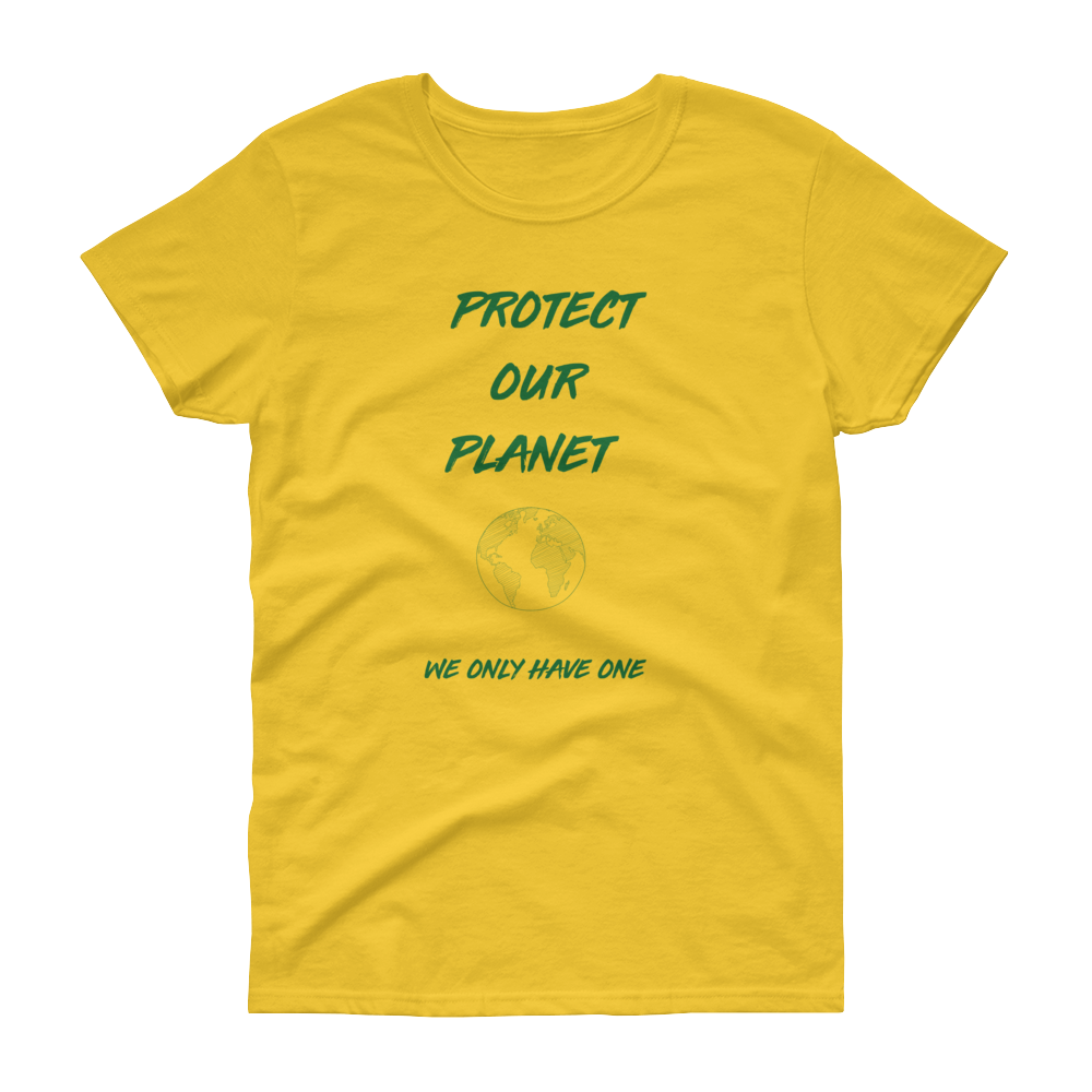 Protect Our Planet - Women's short sleeve t-shirt