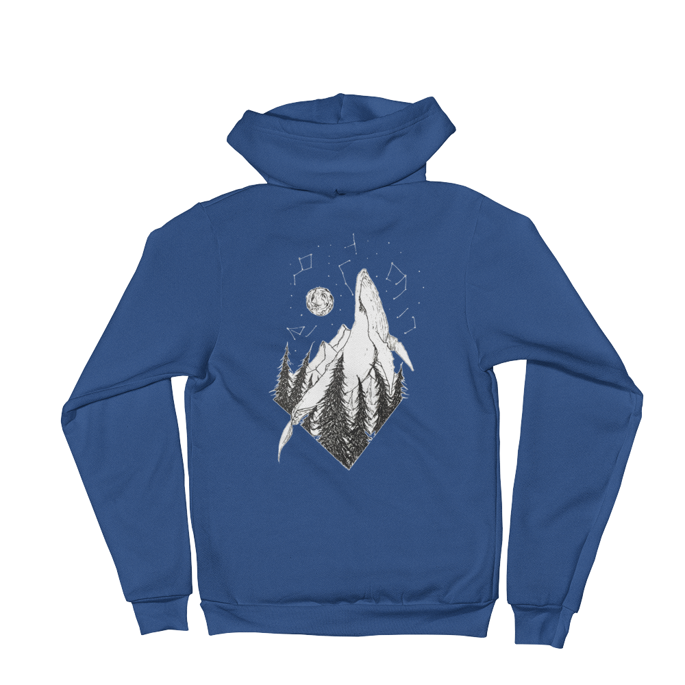 The Whale Universe - Hoodie sweater