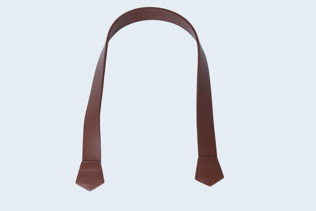 Saddle Brown Handle (Pentagon Ends)