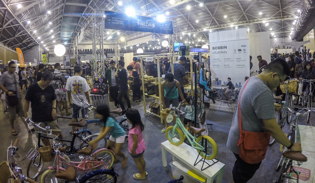 singapore bike show 2017 footloops booth