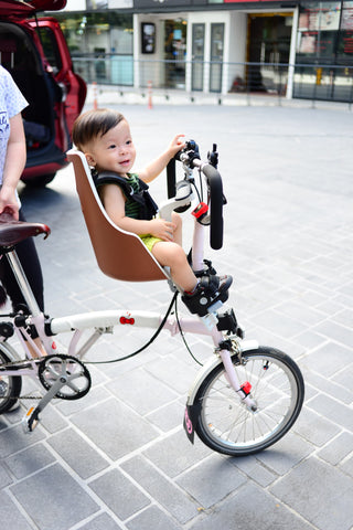 bobike exclusive mini childseat for brompton
