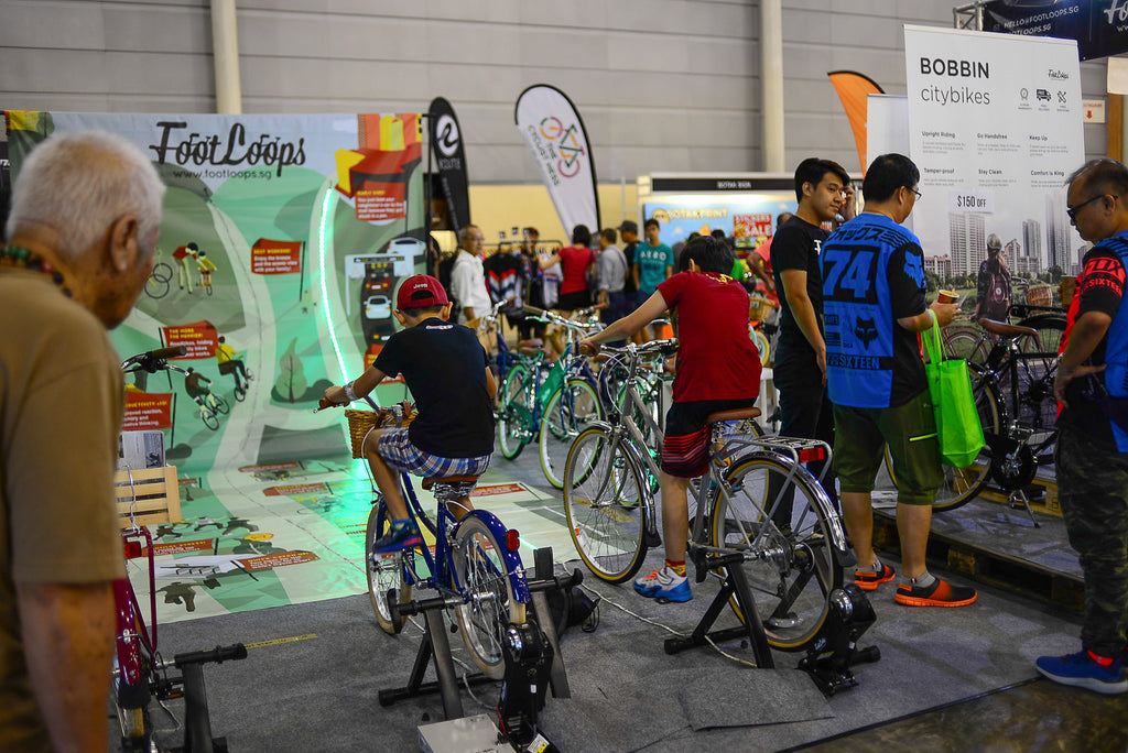 singapore bike show 2017 footloops