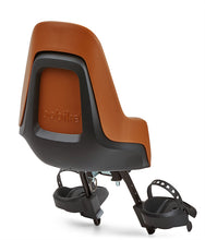 BOBIKE BICYCLE CHILD SEAT (COLOR ORANGE) BACKVIEW