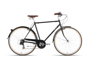 BOBBIN BEAT 7 SPEED BLACK (COMMUTER BIKE)