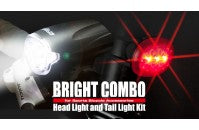 CROPS BRIGHT COMBO - HEAD AND TAIL LIGHT KIT