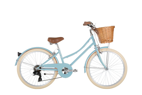 BOBBIN GINGERSNAP 24 INCH DUCK EGG BLUE 6 SPEED - NEW Just Arrived
