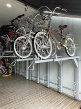 UNIVERSAL BIKE PARKING RACK - DOUBLE TIER 2 X 5 BIKES (PREORDER)