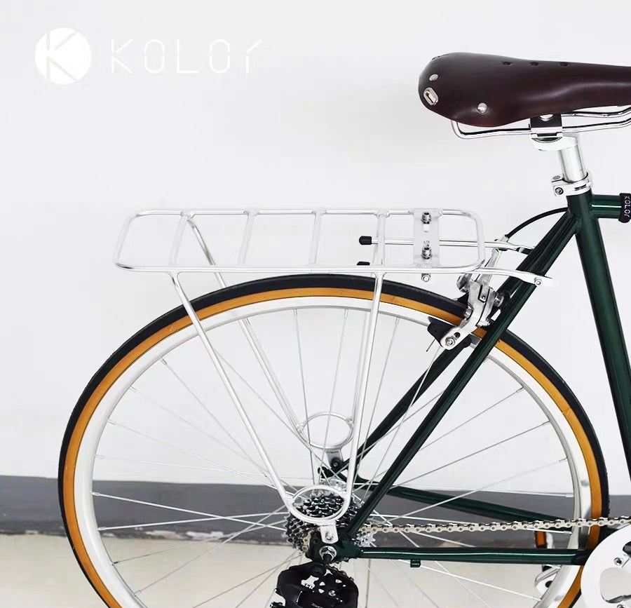 KOLOR REAR ALLOY RACK 24/ 26 INCHES/ 700C