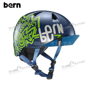 BERN CHILD HELMET - NAVY BLUE