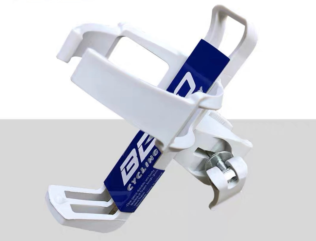 BETO UNIVERSAL WATER BOTTLE HOLDER WHITE
