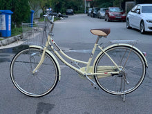 KAWASAKI 26 INCH 3 SPEED VANILLA CREAM YELLOW