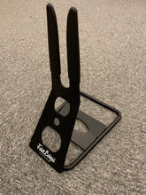 RUBBER HOOK BIKE RACK STAND STEEL (BLACK)