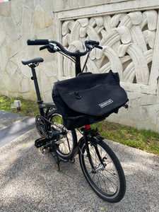 FRONT LARGE BAG TYPE SB-BLACK WITH HANDLE FOR BROMPTON