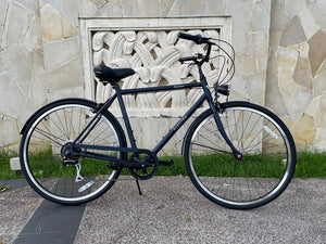 ELECTRA LOFT CLASSIC CITY BIKE 28 INCH MATTE NAVY BLUE 7 SPEED + FREE HEADLIGHT AND BIKE LOCK Q5