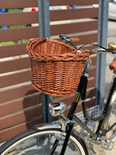 BASKET VINTAGE FRONT WITH SUPPORTING HEAD TUBE BRACKET