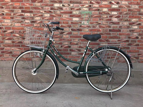 KAWASAKI 24 INCH 3 SPEED DARK GREEN