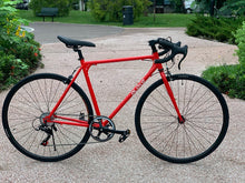 BLAKE DROP BAR - 700C 8 SPEED IMPERIAL RED + FREE BIKE LOCK Q5