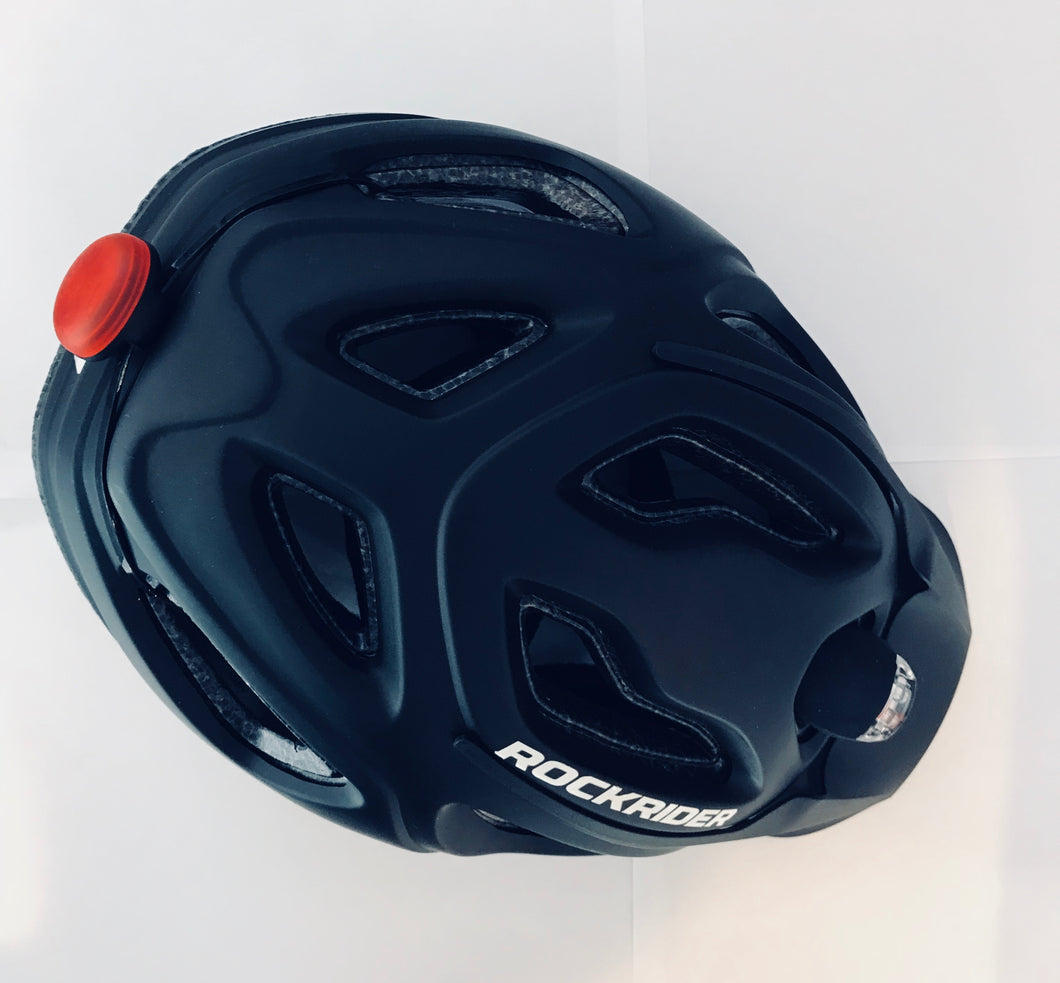 ROCKRIDER BLACK ST100 WITH EZ LIGHT (L 57-62CM)