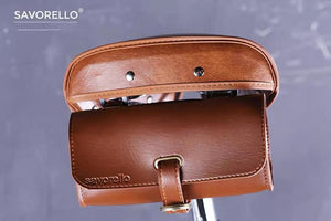 SAVORELLO CLASSIC SADDLE BAG - BROWN