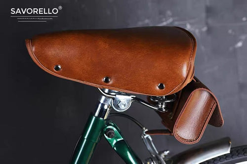 SAVORELLO CLASSIC SADDLE INCLUDE SADDLE BAG - BROWN