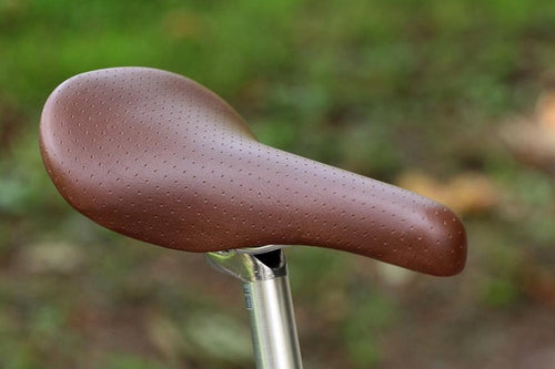 BOBBIN SPRUNG VINYL RACE BIKE SADDLE