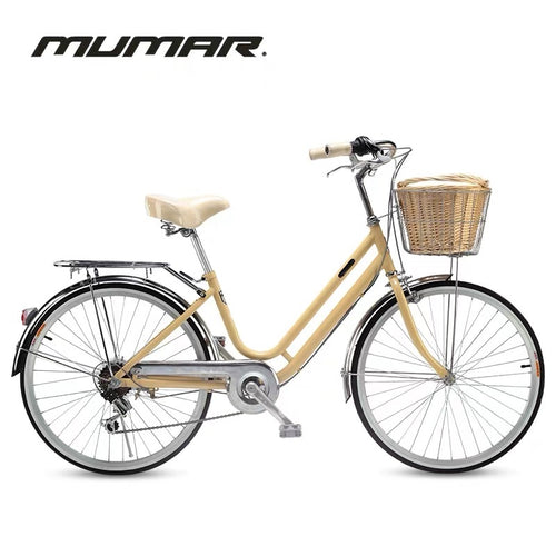 MUMAR 24 INCH BUTTER YELLOW 6 SPEED