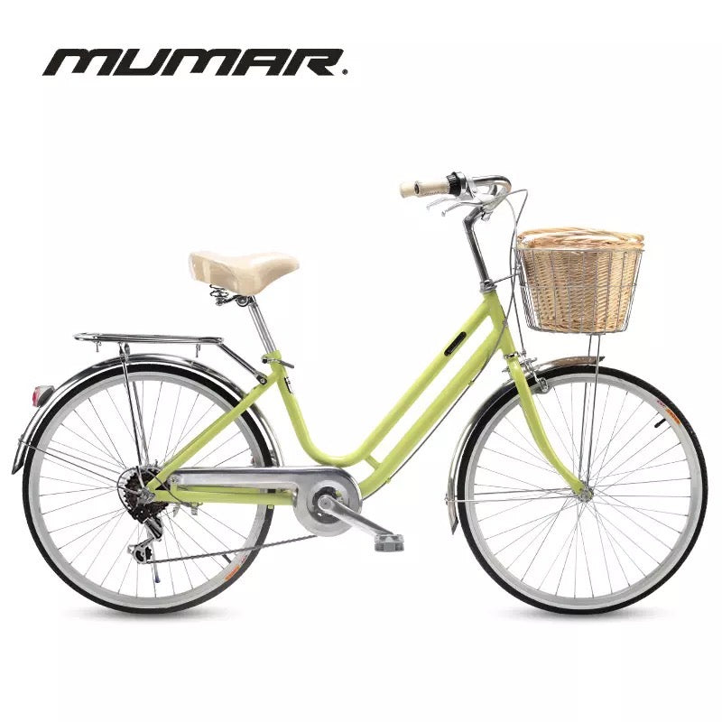 MUMAR 24 INCH LIME GREEN 6 SPEED (AVAILABLE JUN 2020)