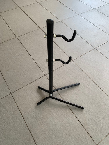 BIKE RACK STEEL (BLACK) ADJUSTABLE STAND