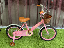 STITCH 16 INCH SWEET PINK (WITH TRAINING WHEELS)