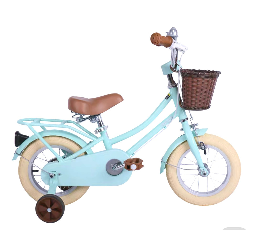STITCH 12 INCH MINT GREEN (WITH TRAINING WHEELS)