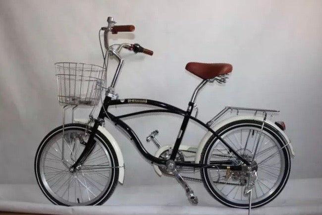 KAWASAKI EASY 20 INCH BLACK 3 SPEED