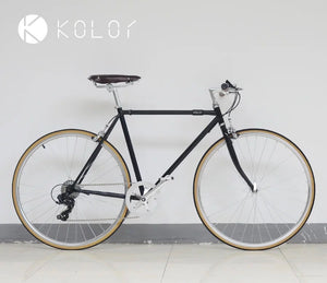 KOLOR FLAT BAR 700C CLASSIC BLACK 7 SPEED S SIZE + FREE BIKE LOCK Q5 (PREORDER AVAILABLE NOVEMBER)