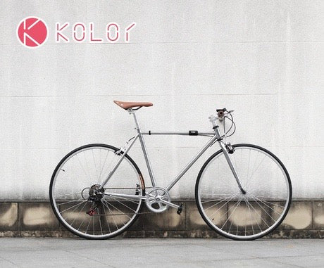KOLOR 700C CHAMPAGNE GOLD 7 SPEED L SIZE