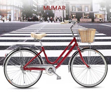 MUMAR 24 INCH CHILLI RED 6 SPEED