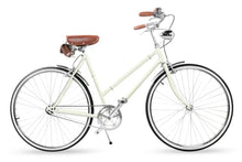 SOMMER CLASSIC 24 INCH CREAM WHITE 3 SPEED + FREE BIKE LOCK Q5