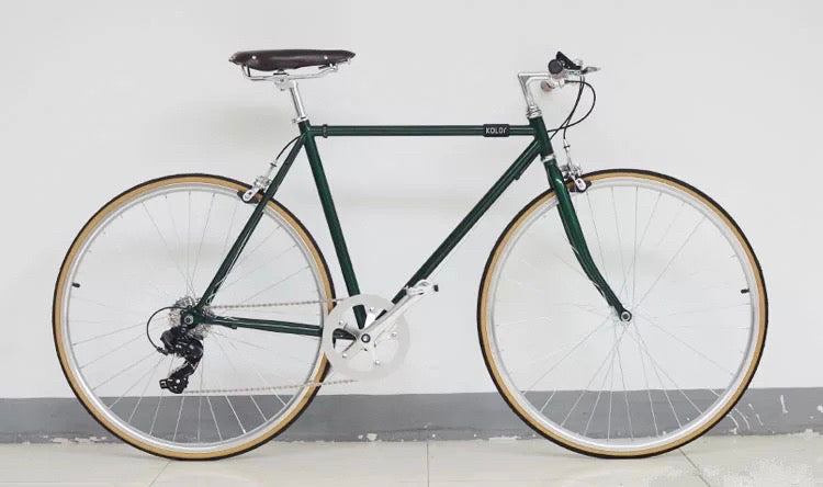 KOLOR 700C POSTAL GREEN 7 SPEED S SIZE (AVAILABLE END JUNE)